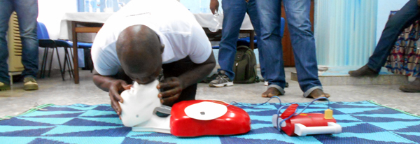First Aid Training in Cameroon