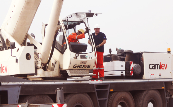 CAMLEV Trains Mobile Crane Operators at Hyclasse Group Cameroon01